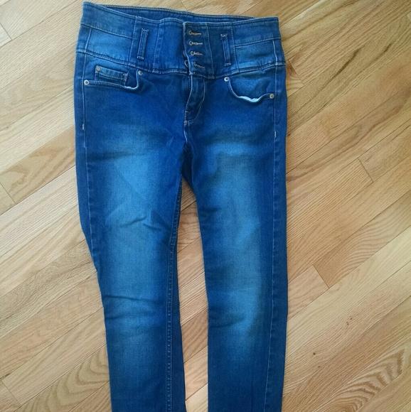 zarte Farben Großhandelspreis 2019 Sportschuhe High waist skinny jeans